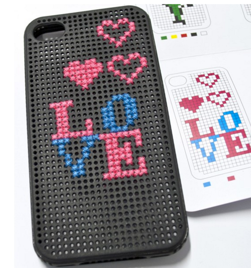 Create your own crafty design with this stitchable case