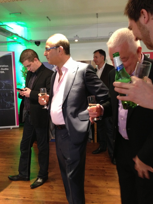 Theo Paphitis at the iT7X2 headphones launch
